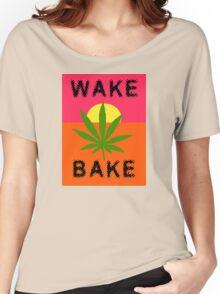 Wake & Bake Marijuana Women's Relaxed Fit T-Shirt