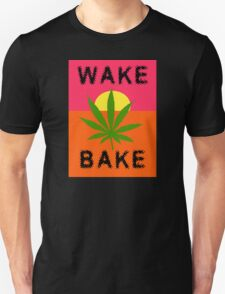 Wake & Bake Marijuana T-Shirt