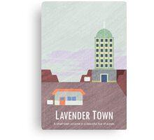 Kanto Towns - Lavender Town Canvas Print