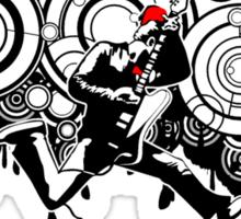 Rocktor Who Sticker