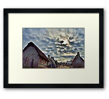 17th Century Sky Framed Print