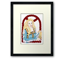 """""""That I did love the Moor to live..."""" Framed Print"""