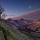 moon over newlands valley by paul mcgreevy