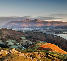 skiddaw from catbells by paul mcgreevy