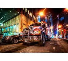 Mack Truck NYC Photographic Print