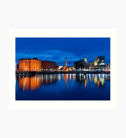 salthouse dock, liverpool Art Print