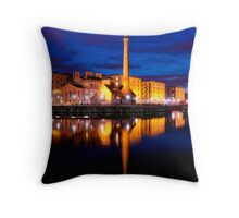 the pumphouse Throw Pillow