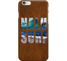 Nalu-Surf Hawaiian Wave iPhone Case/Skin