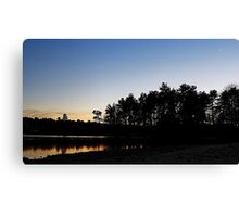 Winter Sunsets Canvas Print