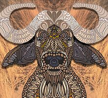 African Buffalo by artlovepassion