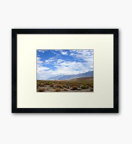 Desertscape Framed Print