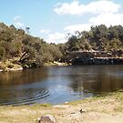 The Blue Pool Angowie (Northern NSW) Australia by Margaret Morgan (Watkins)