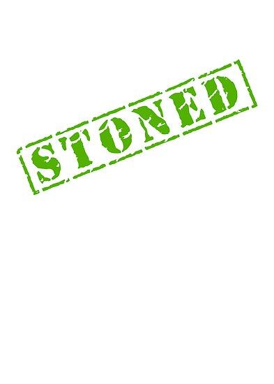 STONED by MarijuanaTshirt