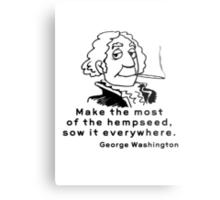 Funny Marijuana Metal Print