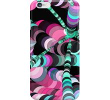 Color Worms Pink iPhone Case/Skin