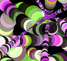 Color Worms Green by SRowe Art