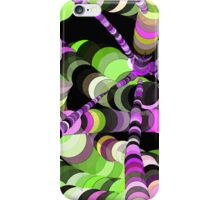 Color Worms Green iPhone Case/Skin