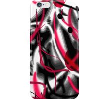 Red Graffiti iPhone Case/Skin
