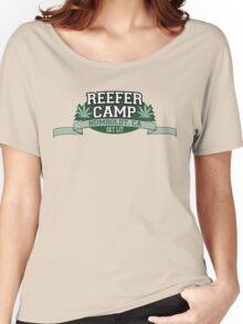 """""""Reefer Camp"""" Marijuana Women's Relaxed Fit T-Shirt"""