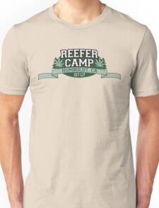 """Reefer Camp"" Marijuana Unisex T-Shirt"