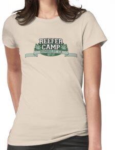"""Reefer Camp"" Marijuana Womens Fitted T-Shirt"