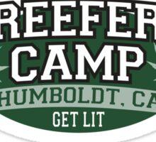 """Reefer Camp"" Marijuana Sticker"