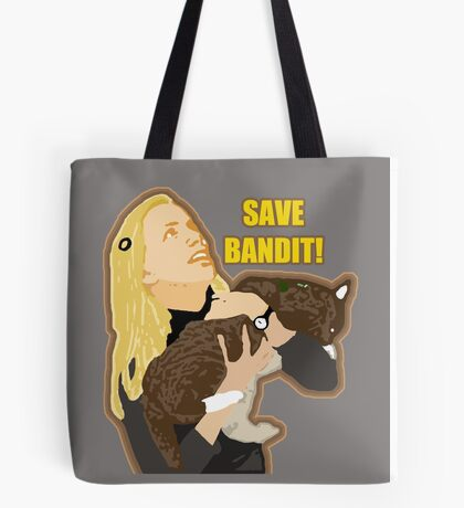 Save Bandit Tote Bag