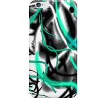 Blue Graffiti iPhone Case/Skin