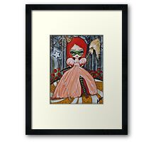 Are You a Good Witch or a Bad Witch Framed Print