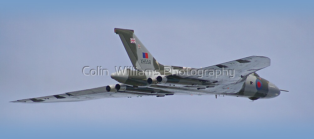 Avro Vulcan XH558  by Colin  Williams Photography