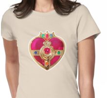 Cosmic Heart Compact Womens Fitted T-Shirt