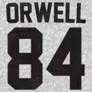 Orwell 84 Jersey - Black by B Rush