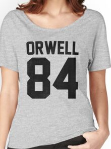 Orwell 84 Jersey - Black Women's Relaxed Fit T-Shirt