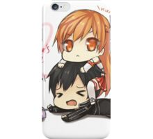 Sao valentines day iPhone Case/Skin