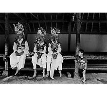 Tenganan Dauh Tukad Teenagers Photographic Print