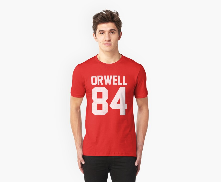 Orwell 84 Jersey - White by B Rush