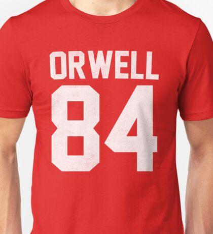 Orwell 84 Jersey - White Unisex T-Shirt
