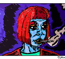 Hard Luck Woman (Redbubble Exclusive Color) by TJKernan