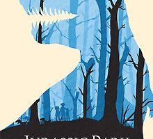 Jurassic Park alternative poster by Emily Brown
