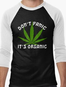 Funny Cannabis Men's Baseball ¾ T-Shirt