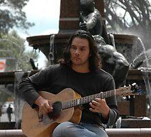 Guitarist, Hyde Park, Sydney, Australia 2011 by muz2142