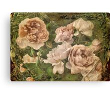 Gather roses while you may ... Canvas Print