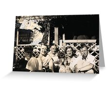 Here We Are In The Garden!!! Greeting Card