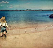 seaside holiday by © Karin  Taylor