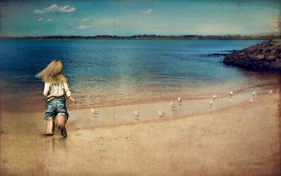 seaside holiday by © Karin  Taylor