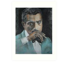 Sammy Davis Jr Art Print