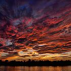 Cape Fear Sunset by David Edwards