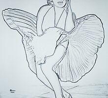 Marylin Monroe by JohnBiondo