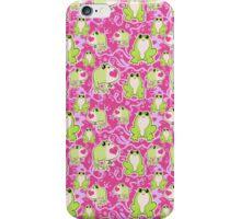 Love Frogs Pattern iPhone Case/Skin