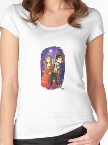 DW: Show me the Stars Women's Fitted Scoop T-Shirt